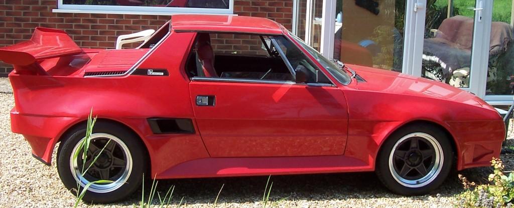 The Fiat X1 9 Sports Car