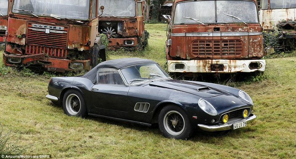 Classic Cars Worth Millions Found On French Farm