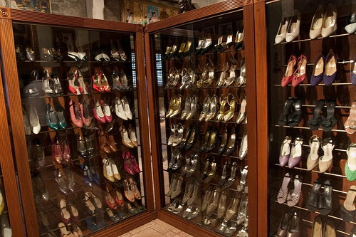 Imelda Marcos Shoe Archives