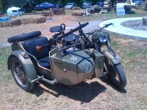 Motorbike Machine Gun