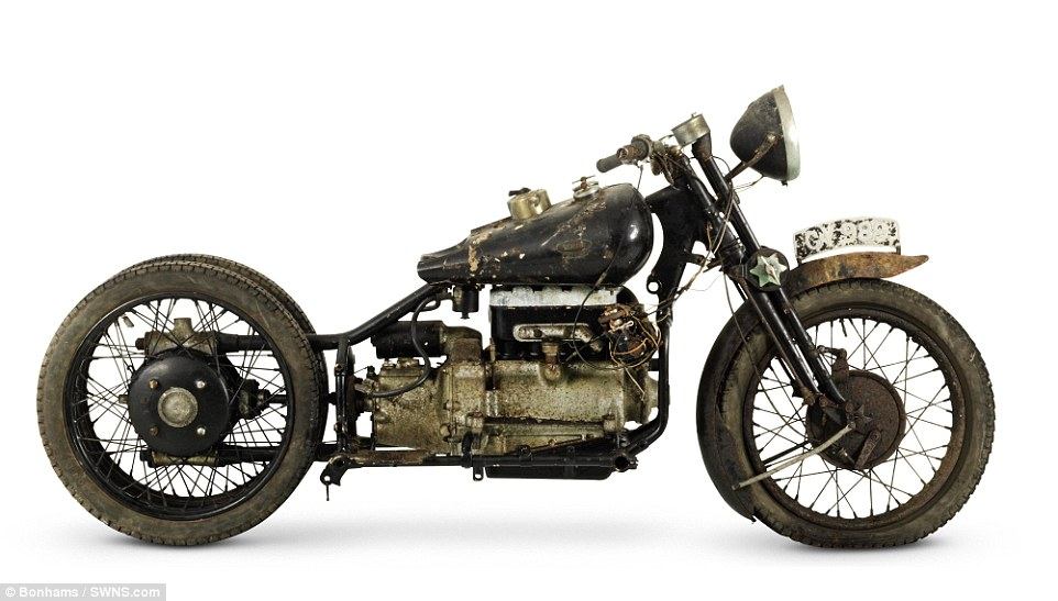 Brough Superior 750cc BS4