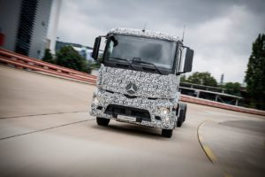 Electric Truck Being Tested By Mercedes Benz