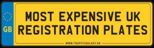 Most Expensive UK Registration Plates