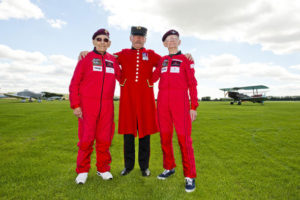 Chelsea Pensioner Skydives