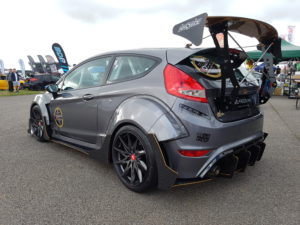 Modified Ford Fiesta