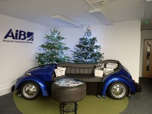 VW Beetle Sofa